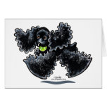 Black Cocker Spaniel Play Greeting Cards