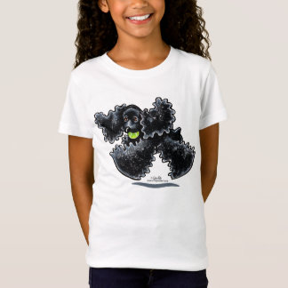 Black Cocker Spaniel Play T-Shirt