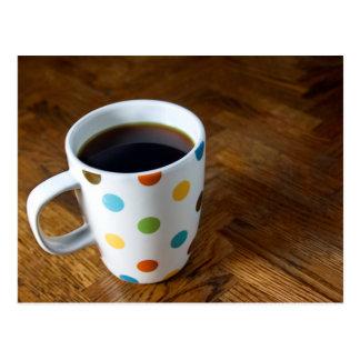 Black Coffee 4 Postcard
