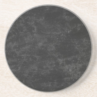 Black Concrete Beverage Coaster
