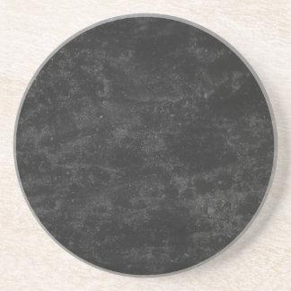 Black Concrete Coaster
