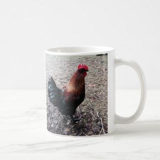 Black Copper Marans Rooster Mug
