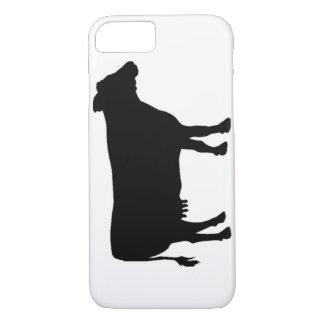 Black cow iPhone 8/7 case