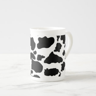 Black cow skin  Bone China Mug