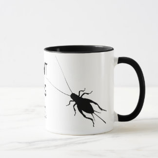 Black Cricket Mug