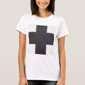 Black Cross by Kazimir Malevich T-Shirt