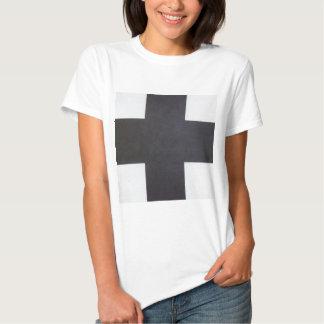 Black Cross by Kazimir Malevich Tshirt