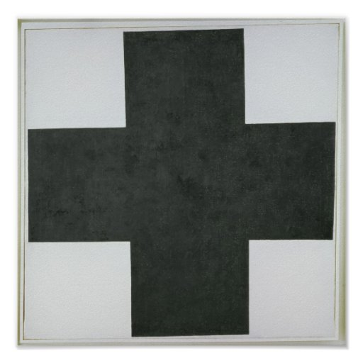 Black Cross, c.1923 Poster