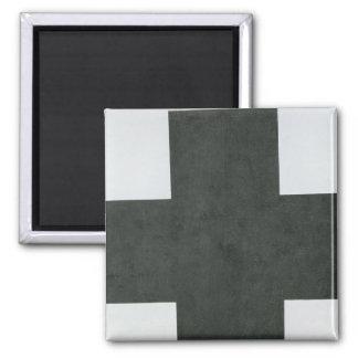 Black Cross, c.1923 Square Magnet