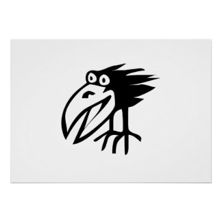 Black Crow Print