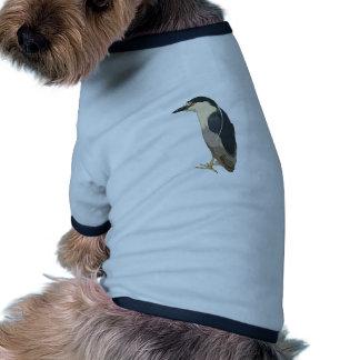 Black-crowned Night Heron Bird Doggie Shirt