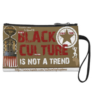 Black Culture not a Trend cell phone pouch