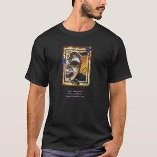 Black Custom T-Shirt With Mask Image