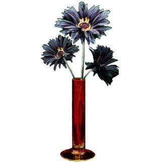 Black Daisies 3D Standing Photo Sculpture