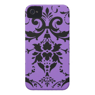 Black damask pattern  Blackberry Bold Case