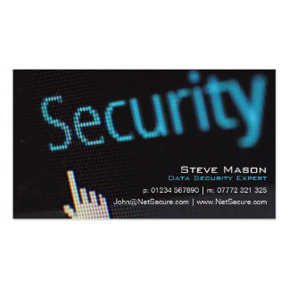 Black Data Security Business Card