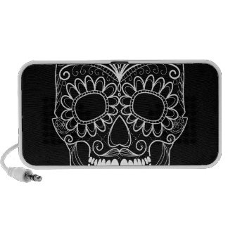 Black Day of the Dead Travel Speakers