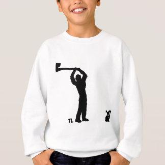 black dead bunny - lumberjack sweatshirt