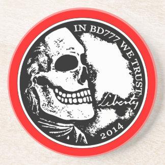 Black Death 777 - Liberty Beverage Coaster