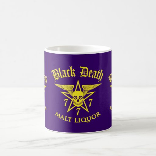 Black Death 777 - Malt Liquor Coffee Mugs