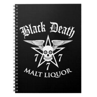 Black Death 777 - Malt Liquor Notebook