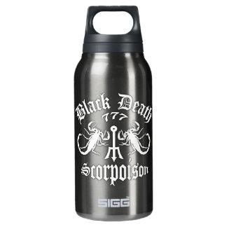 Black Death 777- Scorpoison Vodka Insulated Water Bottle