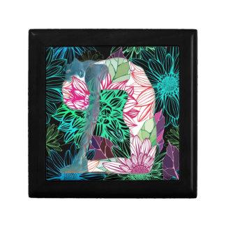 Black Deco Floral Yoga Series Gift Box