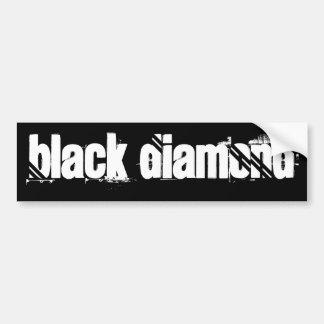 BlAcK DiAmOnD Car Bumper Sticker