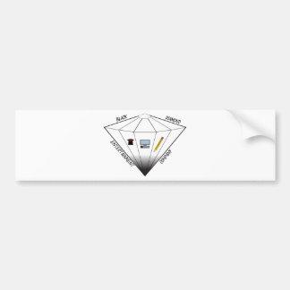 Black Diamond Entertainment Company Bumper Sticker