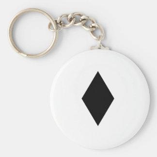 Black Diamond Basic Round Button Key Ring