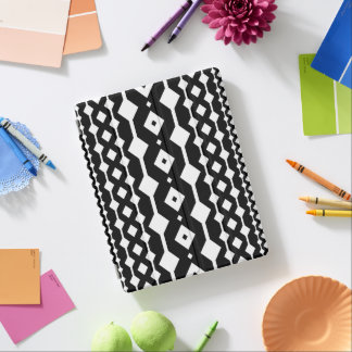 Black Diamond Patterned iPad Cover