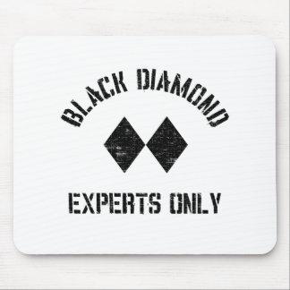 Black diamond - ski fun mousepad