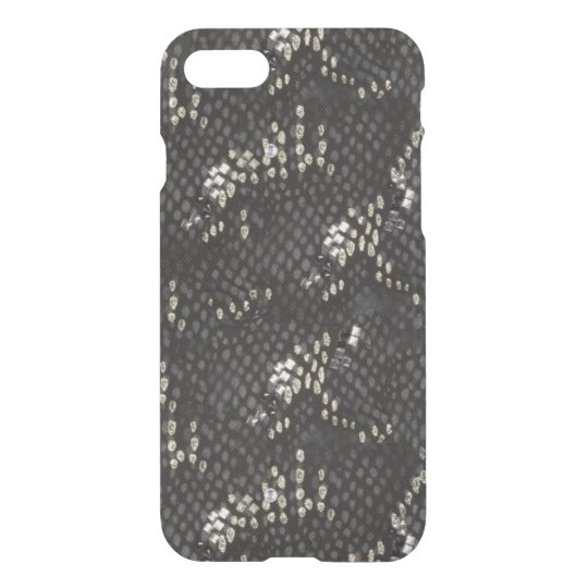 Black Diamond Snake Skin iPhone 8/7 Case
