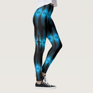 Black Diamonds Sword Leggings