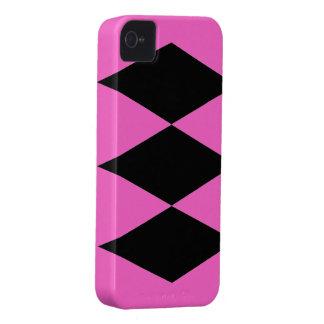 Black Diamonds theme Case-Mate iPhone 4 Case