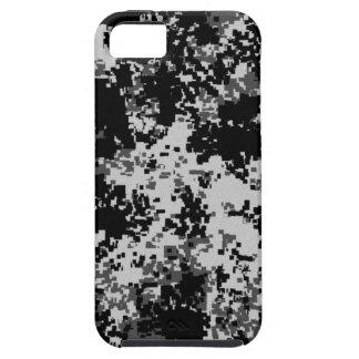 Black Digital Camouflage iPhone 5 Case