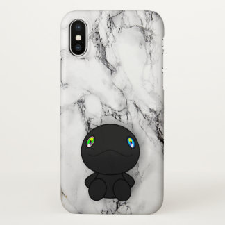 Black dino iPhone x case