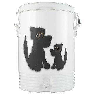 Black Dog Family Drinks Cooler