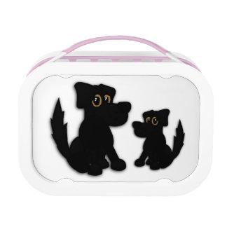 Black Dog Family Lunch Box