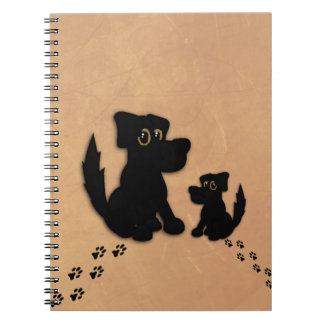 Black Dog Family Notebook