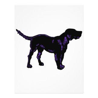 Black Dog Personalized Flyer