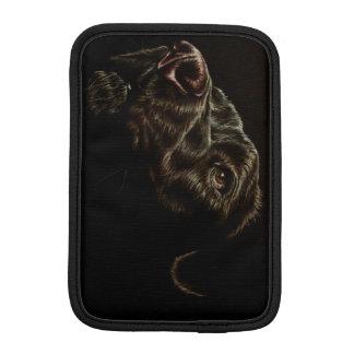 Black Dog on iPad Mini Case iPad Mini Sleeves