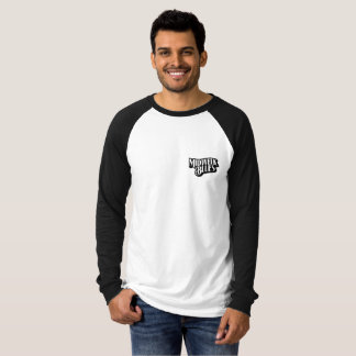 Black Dog Raglan Tee