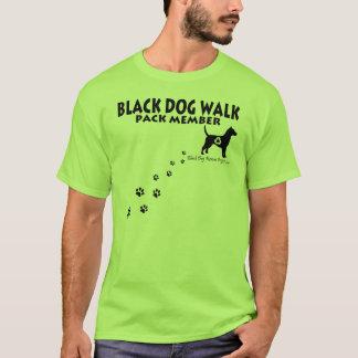 Black Dog Walk Shirts