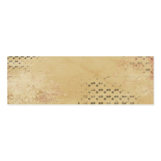 Black Dots torn Kraft Paper collage background Pack Of Skinny Business Cards