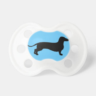 Black Doxie Baby Pacifier