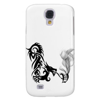 Black Dragon Breath Monogram V iPhone3G Cover Galaxy S4 Covers
