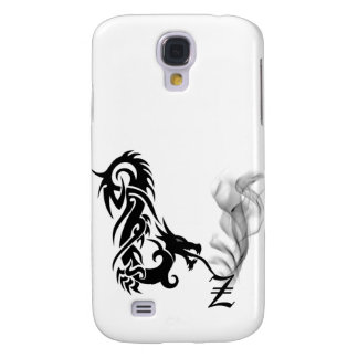 Black Dragon Breath Monogram Z iPhone3G Cover Samsung Galaxy S4 Covers