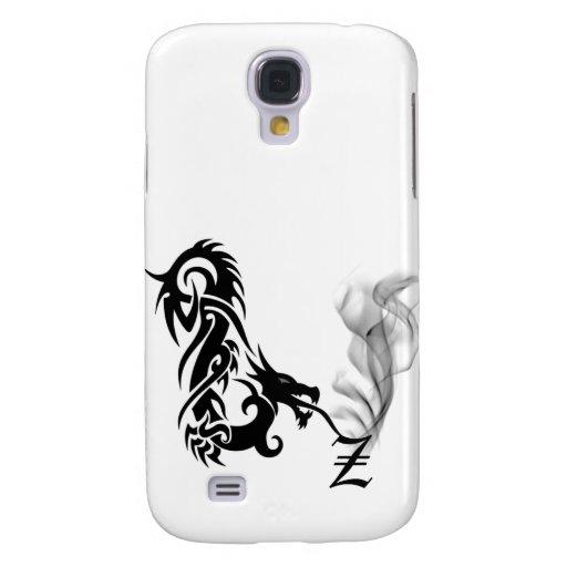 Black Dragon Breath Monogram Z iPhone3G Cover Samsung Galaxy S4 Covers