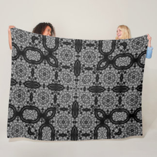 Black Dragon Dark Dream Quilt Pattern Fleece Blanket